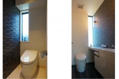 1階トイレ 2階トイレ